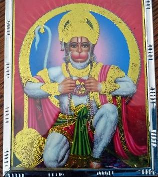 Hanuman portret