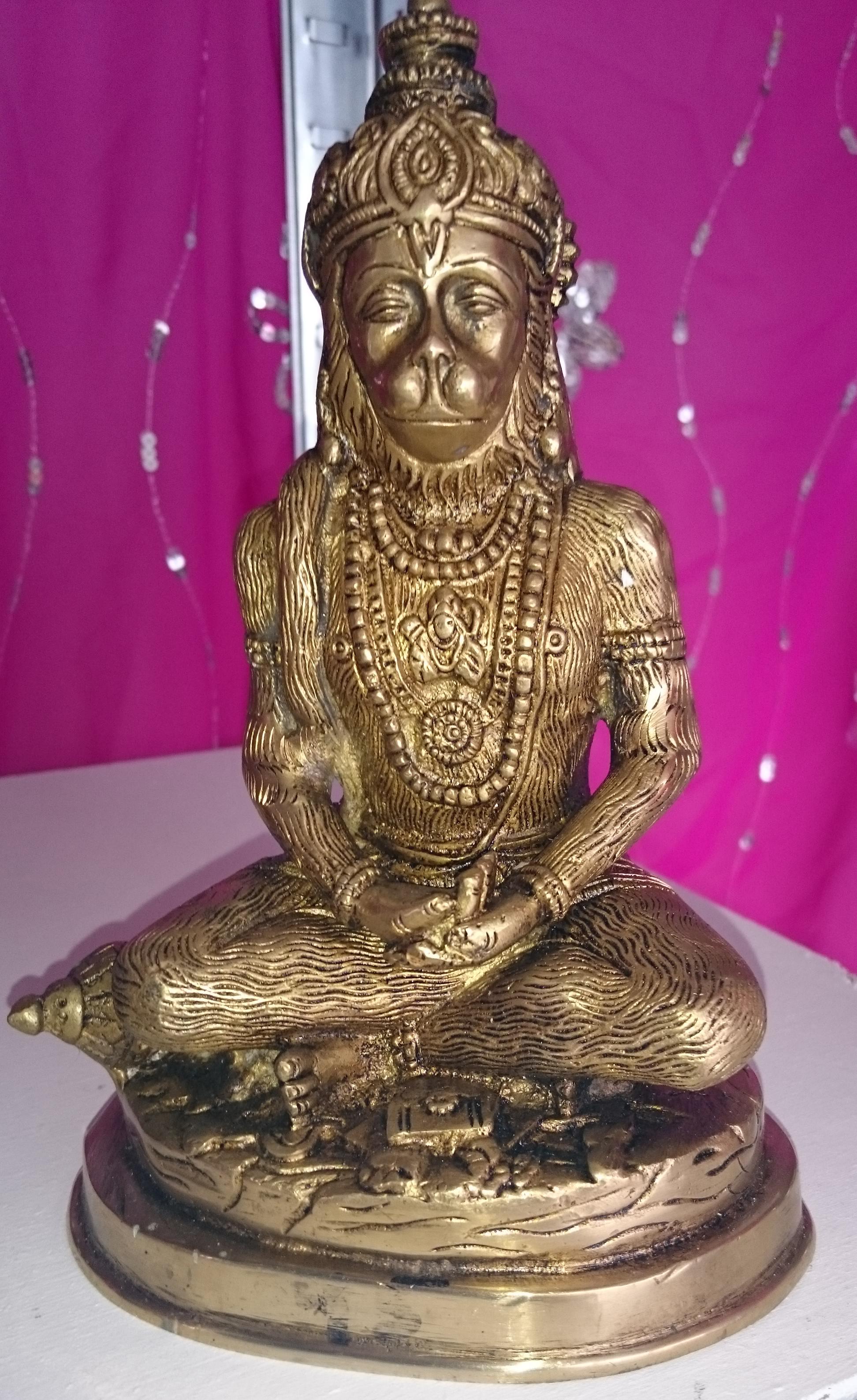 Hanuman, meditatie