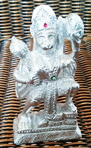 Hanuman, zilverkleurig