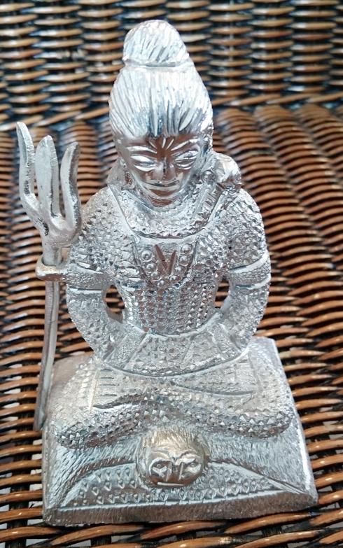 Shiva, zilverkleurig