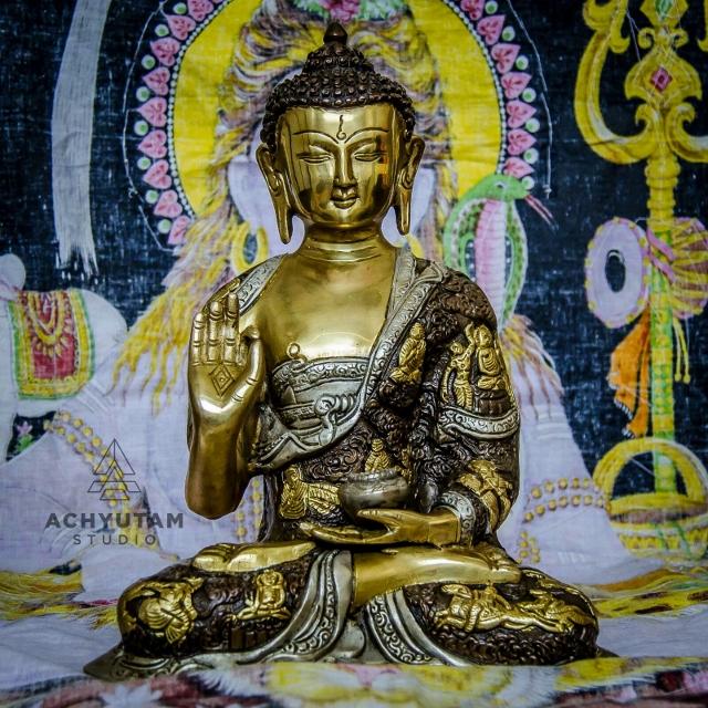 handbewerkte Buddha