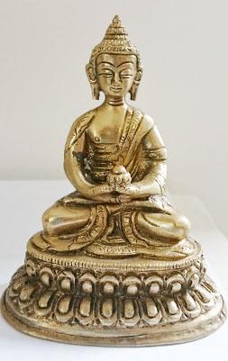 handbewerkte kleine Buddha