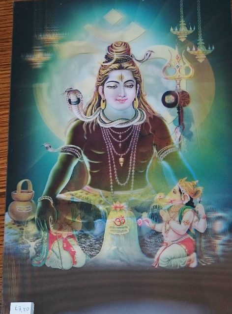 3D poster Shiva