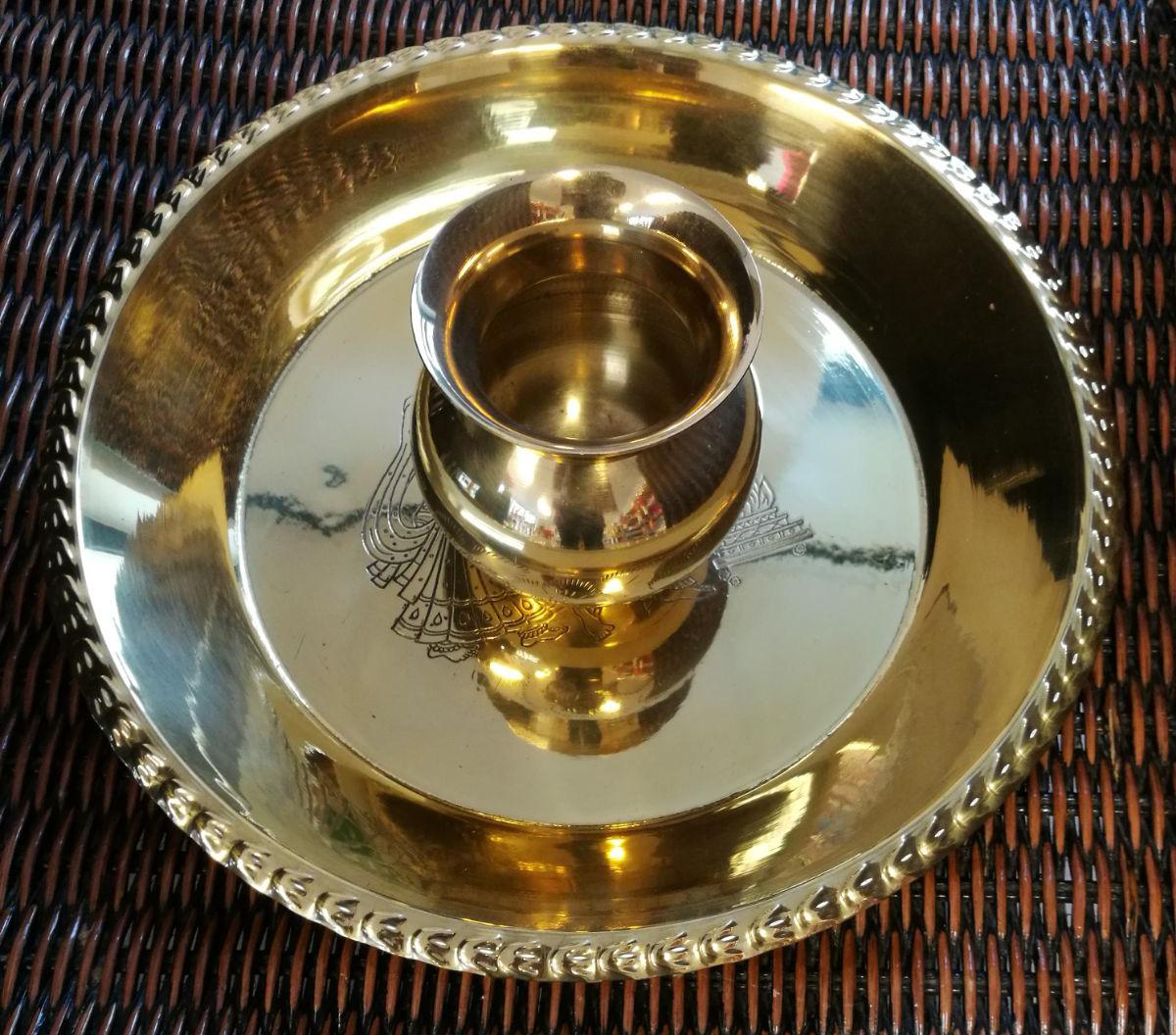 goudkleurige Thali Lota
